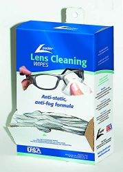 Leader Lens Cleaning Towelette Dispenser, Pack of 100