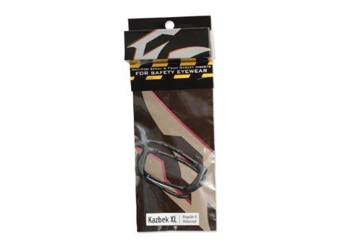 Edge 9420 Kazbek XL Self Adhesive EVA Foam Gasket Kit with Anti-Fog Spray, Fits All Style, Easy to Apply, Wide Fit, Black