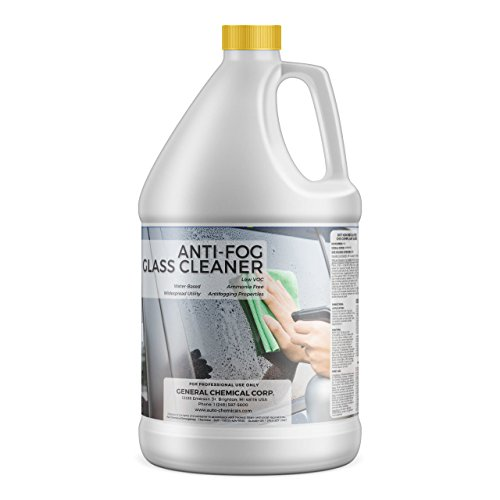 AutoGeneral – Anti-Fog Glass Cleaner – Ammonia Free Automotive Window and Windshield Cleaner – Spray Concentrate – Antifogging Formula – Industrial Strength – Professional Grade – 1 Gallon Jug