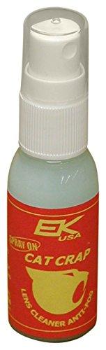 EK USA, Cat Crap Multi-Use Anti-Fog Spray, for any Optics, Coatings, Eyeglass Lens Cleaner, Spray On – 1 Ounce Bottle